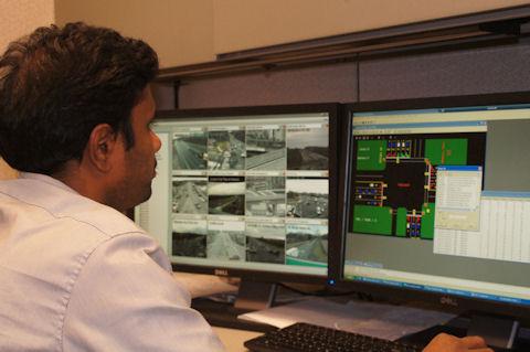 VDOT signal control room