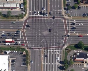 Intersection of Independence and Virginia Beach Boulevard.