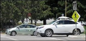 Will Self-Driving Cars re-write the rules for intersection design?