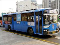 Seoul bus... energy efficient...