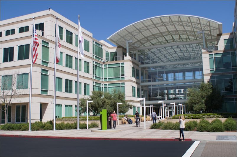 Apple headquarters, Cupertino, Calif.