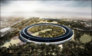 Proposed design of Apple mothership