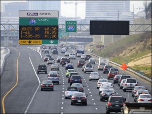 Congestion pricing on the Capital Beltway Express