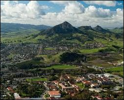 San Luis Obispo. Who wouldn't be happy living here... if you could afford it?