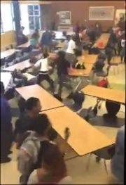 "Image capture from YouTube posting, ""Crazy Ass Varina Fight."""