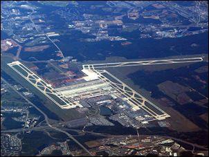 Dulles airport runway
