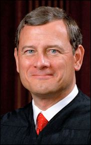 "Chief Justice John G. Roberts: ""It depends on what the meaning of 'state' is."""