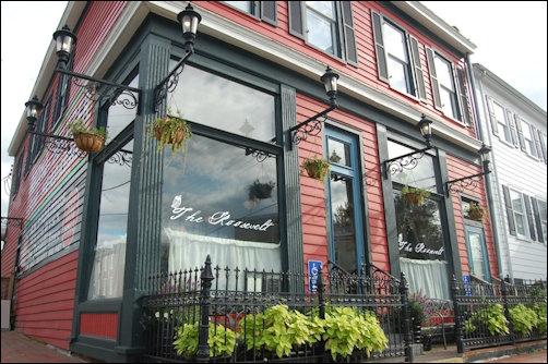 The Roosevelt restaurant in Church Hill.