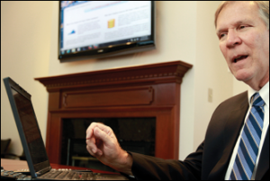 Michael Lundberg, head of Virginia Health Information, oversees the all-payer claims database. The database represents the culmination of years of work using data to create transparency and accountability to Virginia's health care sector.