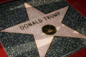 HOLLYWOOD, CA - JANUARY 16: Donald Trump was honored with a star on the Hollywood Walk of Fame on January 16, 2007 in Hollywood, California. (Photo by Vince Bucci/Getty Images)