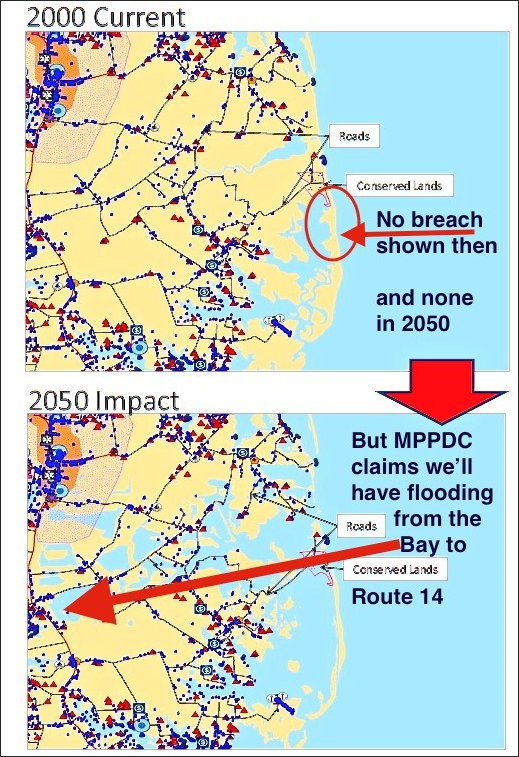 Official projections of recurrent flooding from sea-level rise are based on maps with flawed elevation measurements.